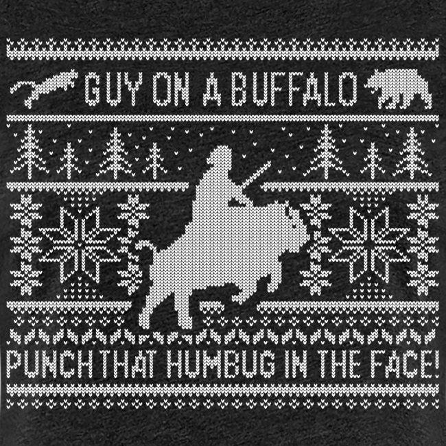 Guy on a Buffalo X-mas 17