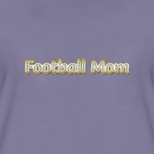 Football Mom - Women's Premium T-Shirt