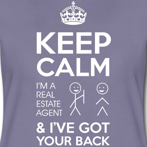 KeepCalm I Have Your Back - Women's Premium T-Shirt