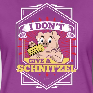 I Don't Give A Schnitzel German Beer Oktoberfest - Women's Premium T-Shirt