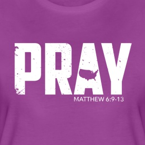 Pray For America 2017 - Women's Premium T-Shirt