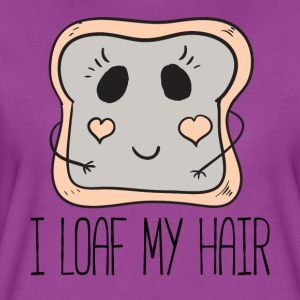 I Loaf My Hair by Curl Centric - Women's Premium T-Shirt