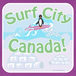 Surf City Canada - Women's Premium T-Shirt