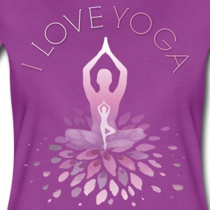 yoga yoga namaste shiva woman fun buddha gym om lo - Women's Premium T-Shirt