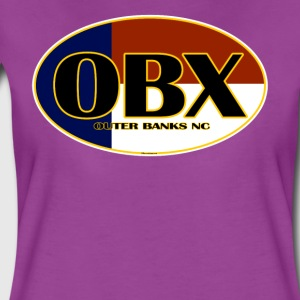 OBX Outer Banks North Carolina Flag - Women's Premium T-Shirt