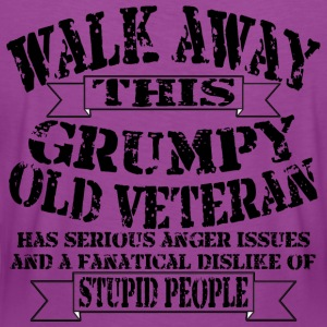 Grumpy Old Veteran - Women's Premium T-Shirt