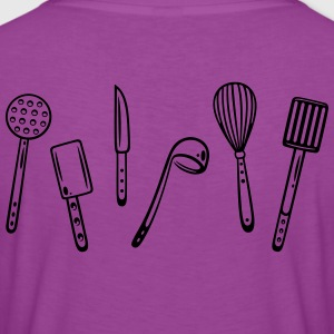 Kitchen utensils for cooking. - Women's Premium T-Shirt