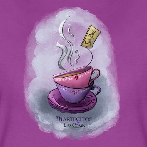 Tea TIme - Women's Premium T-Shirt