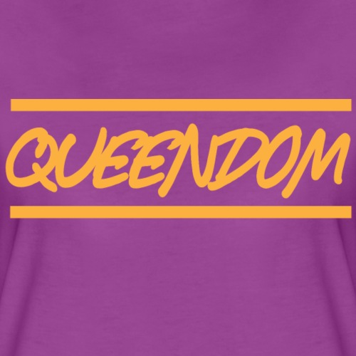 Queendom in Gold - Women's Premium T-Shirt