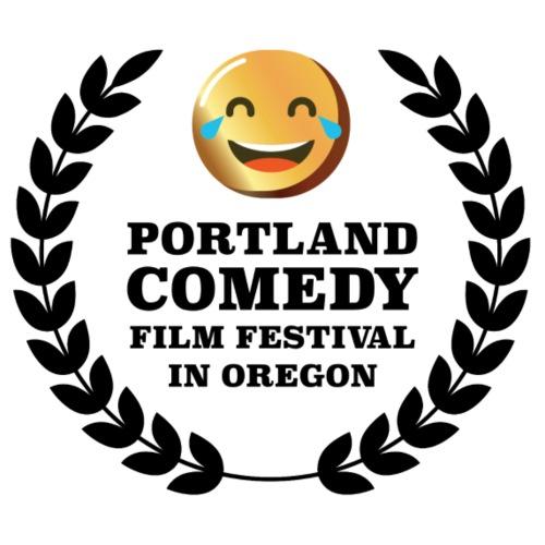 Portland Comedy Film Festival Evergreen Black Logo - Women's Premium T-Shirt