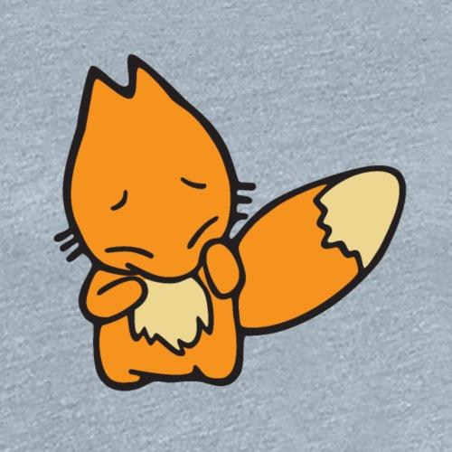 Scaredy Fox - Women's Premium T-Shirt