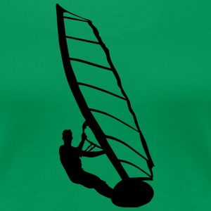 Windsurfer - Women's Premium T-Shirt