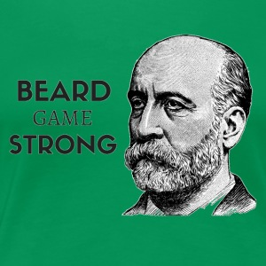 Beard Game Strong - Women's Premium T-Shirt