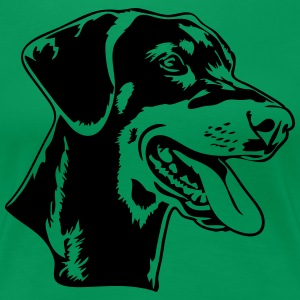 Doberman Pinscher - Women's Premium T-Shirt