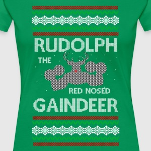 Rudolph the Gaindeer - Women's Premium T-Shirt