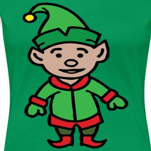 Elf christmas winter merry christmas - Women's Premium T-Shirt