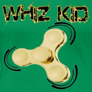 Fidget Spinner Toy - Whiz Kid - Women's Premium T-Shirt