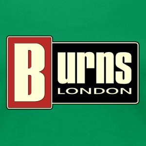 vintage burns london - Women's Premium T-Shirt