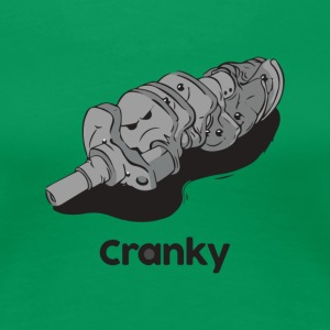 Cranky engine - Women's Premium T-Shirt