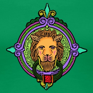 Lion Art - Women's Premium T-Shirt