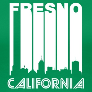 Retro Fresno Skyline - Women's Premium T-Shirt
