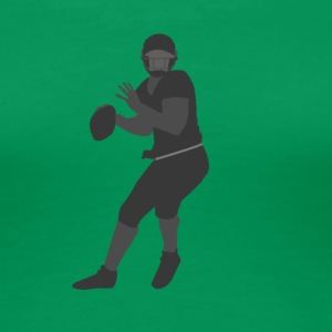 American Football Player - Women's Premium T-Shirt