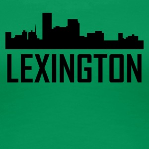 Lexington Kentucky City Skyline - Women's Premium T-Shirt