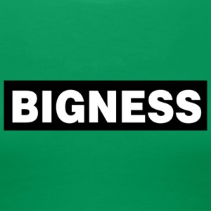 BIGNESS Black - Women's Premium T-Shirt