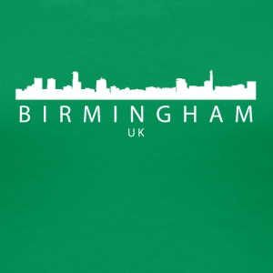Birmingham England UK Skyline - Women's Premium T-Shirt
