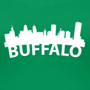 Arc Skyline Of Buffalo NY - Women's Premium T-Shirt