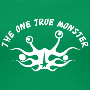 the one true monster Netherlands white - Women's Premium T-Shirt