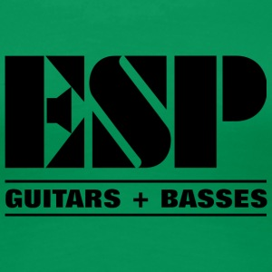 ESP LOGO GUITARS BASSES - Women's Premium T-Shirt