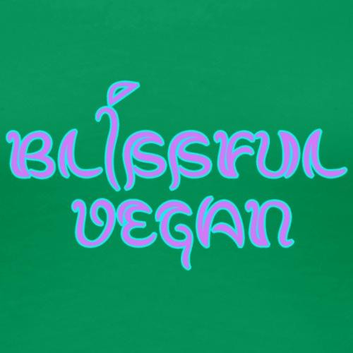blissful vegan - Women's Premium T-Shirt