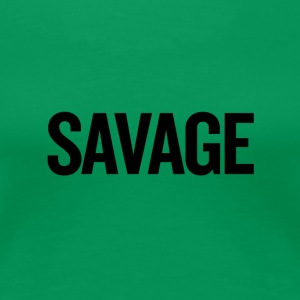 Savage Black - Women's Premium T-Shirt