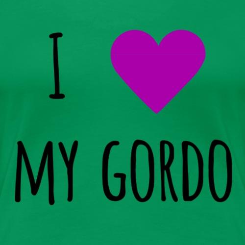 My gordo purple - Women's Premium T-Shirt