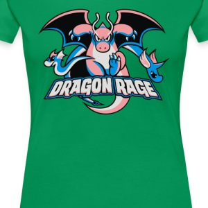 Dragon Rage - Women's Premium T-Shirt