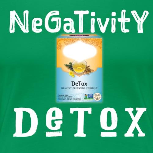 DeTox all things Negative - Women's Premium T-Shirt