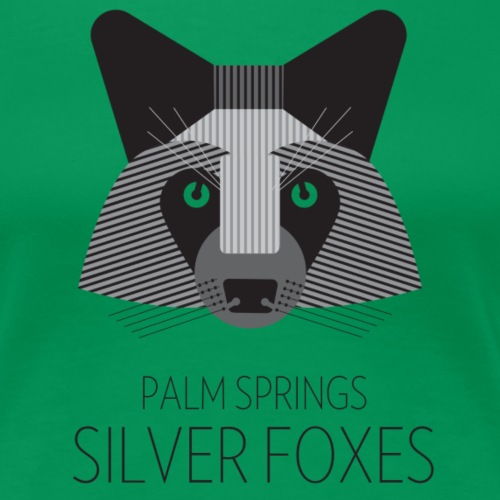 Palm Springs Silver Foxes - Women's Premium T-Shirt