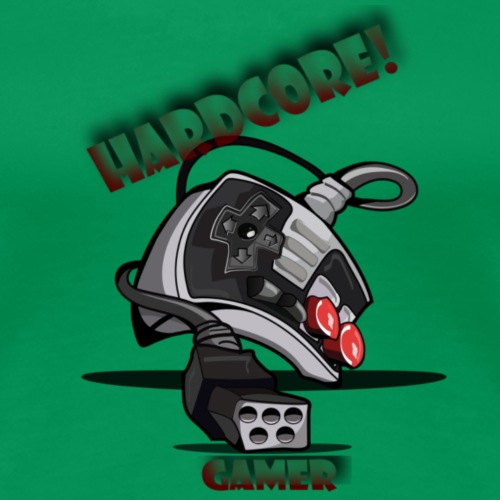 Hardcore gamer - Women's Premium T-Shirt