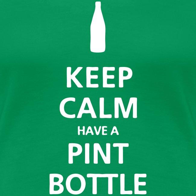 Keep Calm Pint Bottle