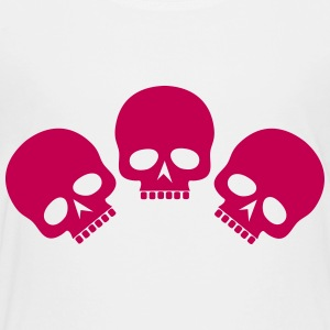 Three Skulls - Toddler Premium T-Shirt
