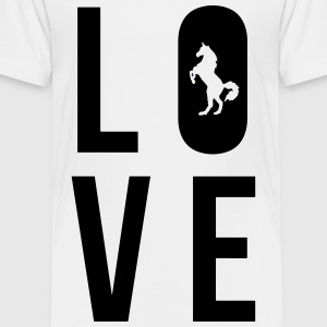 Love Horse - Toddler Premium T-Shirt