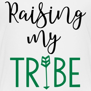 Raising My Tribe Mom Design - Toddler Premium T-Shirt