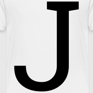 Letter J - Toddler Premium T-Shirt