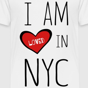 I am loved in NYC - Toddler Premium T-Shirt
