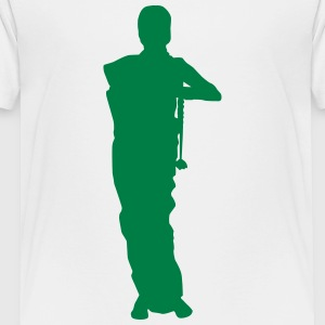 Vector Asian Silhouette - Toddler Premium T-Shirt