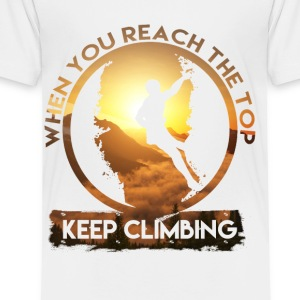 Keep Climbing - Toddler Premium T-Shirt
