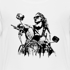 Motorcycle Illustration - Toddler Premium T-Shirt