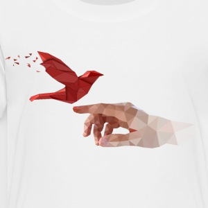 Low poly art - Toddler Premium T-Shirt