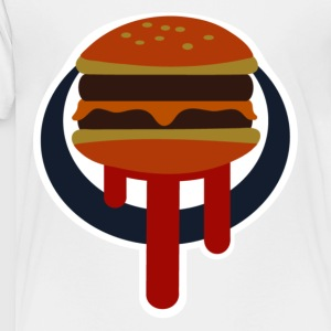 Buger Shot Sign - Toddler Premium T-Shirt